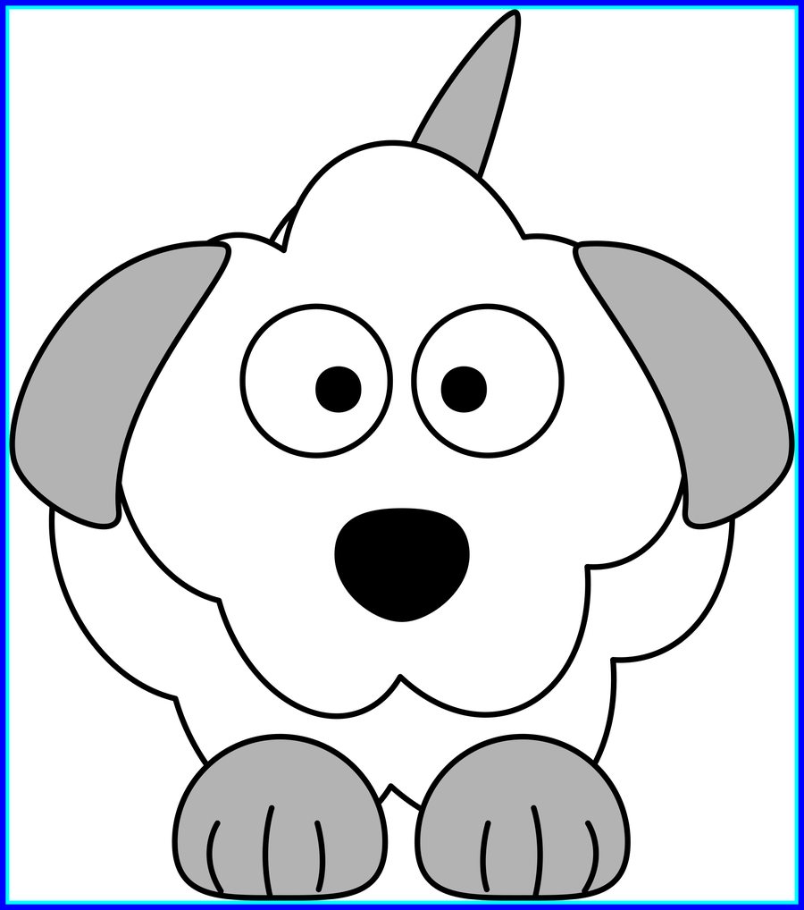 Dog howling clipart jpg transparent download Stunning Clipart French Poodle Cartoon Dog Of Black And White ... jpg transparent download