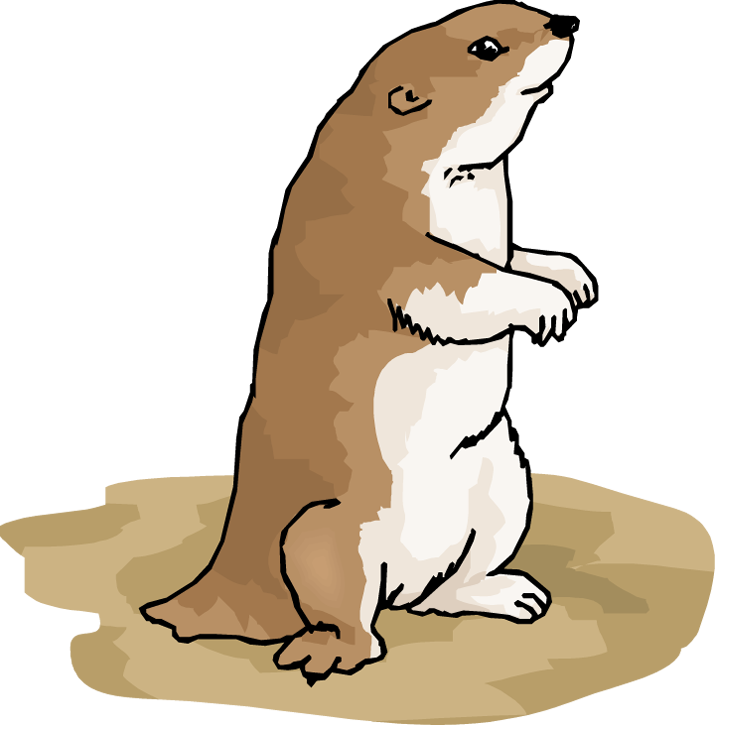 Prairie dog clipart vector royalty free library 28+ Collection of Prairie Dog Clipart | High quality, free cliparts ... vector royalty free library
