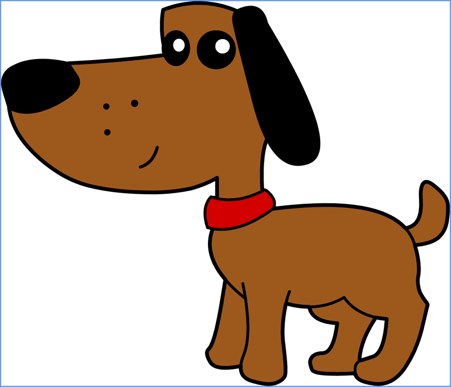 Dog images clipart image black and white download Shocking Cute Dog Clipart Clip Art Library Of Cartoon Ideas And ... image black and white download