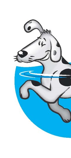 Dog in pool clipart png black and white Canine Swimming Pool png black and white