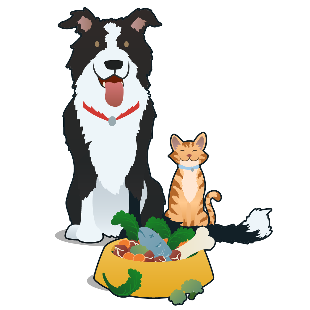 National raw feeding week. Dog itch clipart