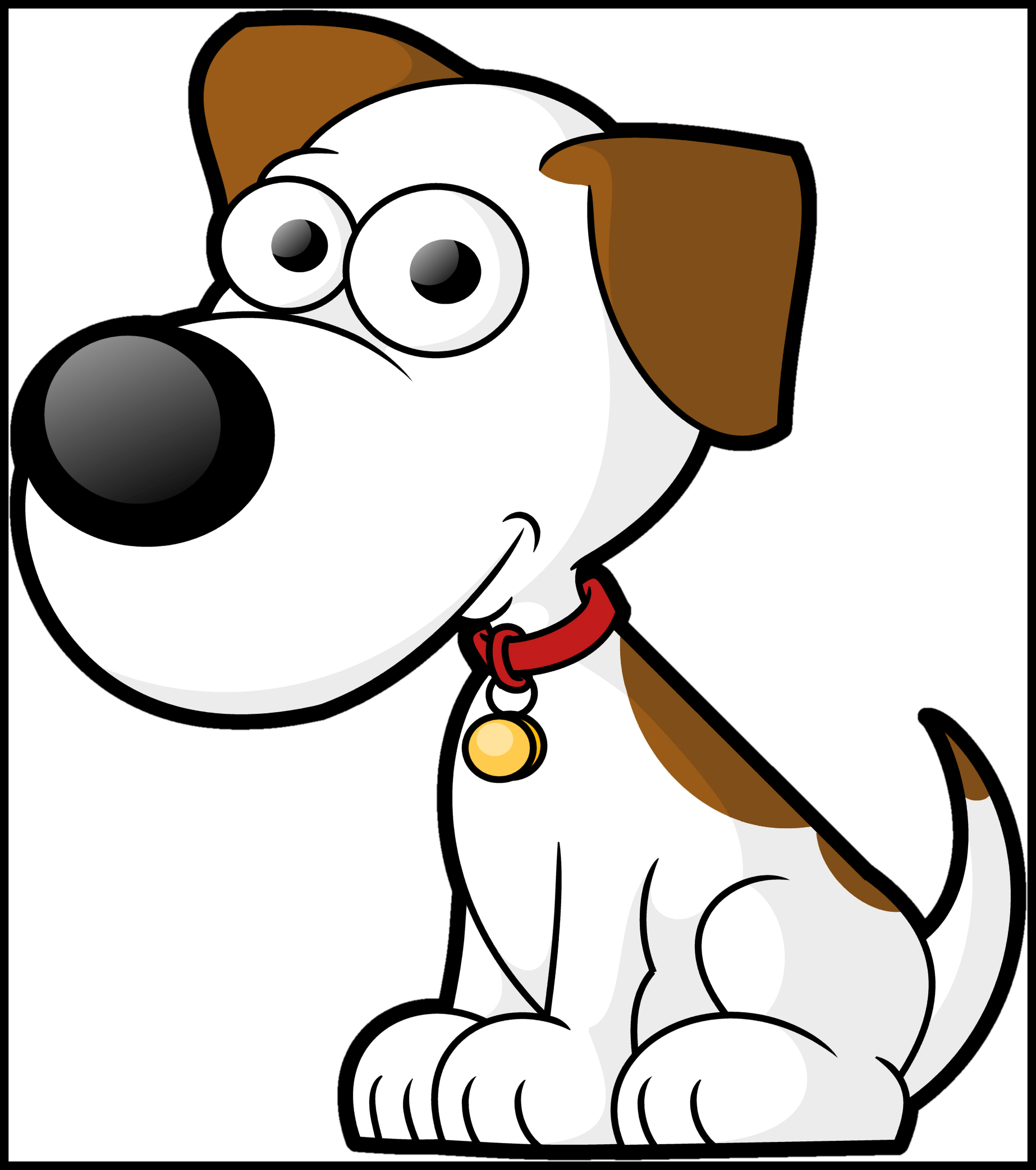 Fascinating famous cartoon pic. Dog jumping through hoop clipart