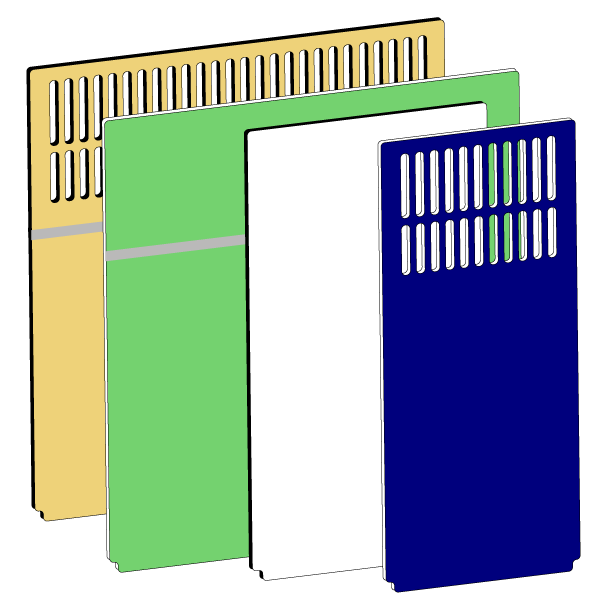 Dog kennel clipart black and white library Dog Kennel Panels | HDPE Plastic Panels | Gator Kennels black and white library