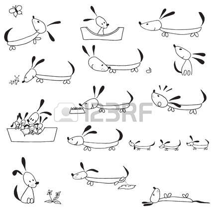 Dog life cycle clipart png transparent stock 140 Dog Born Stock Vector Illustration And Royalty Free Dog Born ... png transparent stock