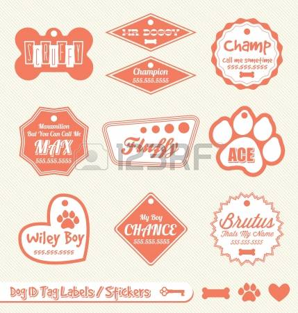 Dog name plate max clipart black and white download Name Tag Images & Stock Pictures. Royalty Free Name Tag Photos And ... black and white download
