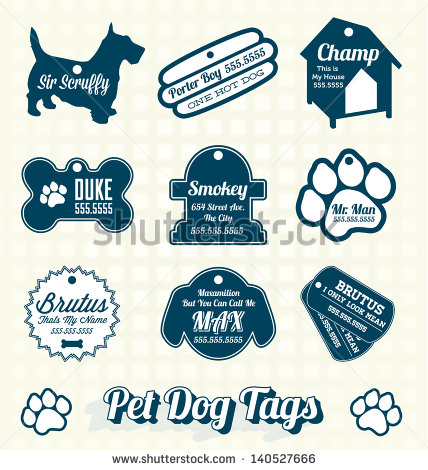 Dog name plate max clipart clipart transparent library Dog Tags Stock Images, Royalty-Free Images & Vectors | Shutterstock clipart transparent library