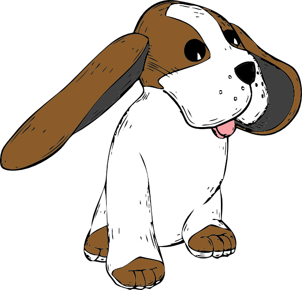 Floppy Eared Dog Clip Art at Clker.com - vector clip art online ... jpg library stock