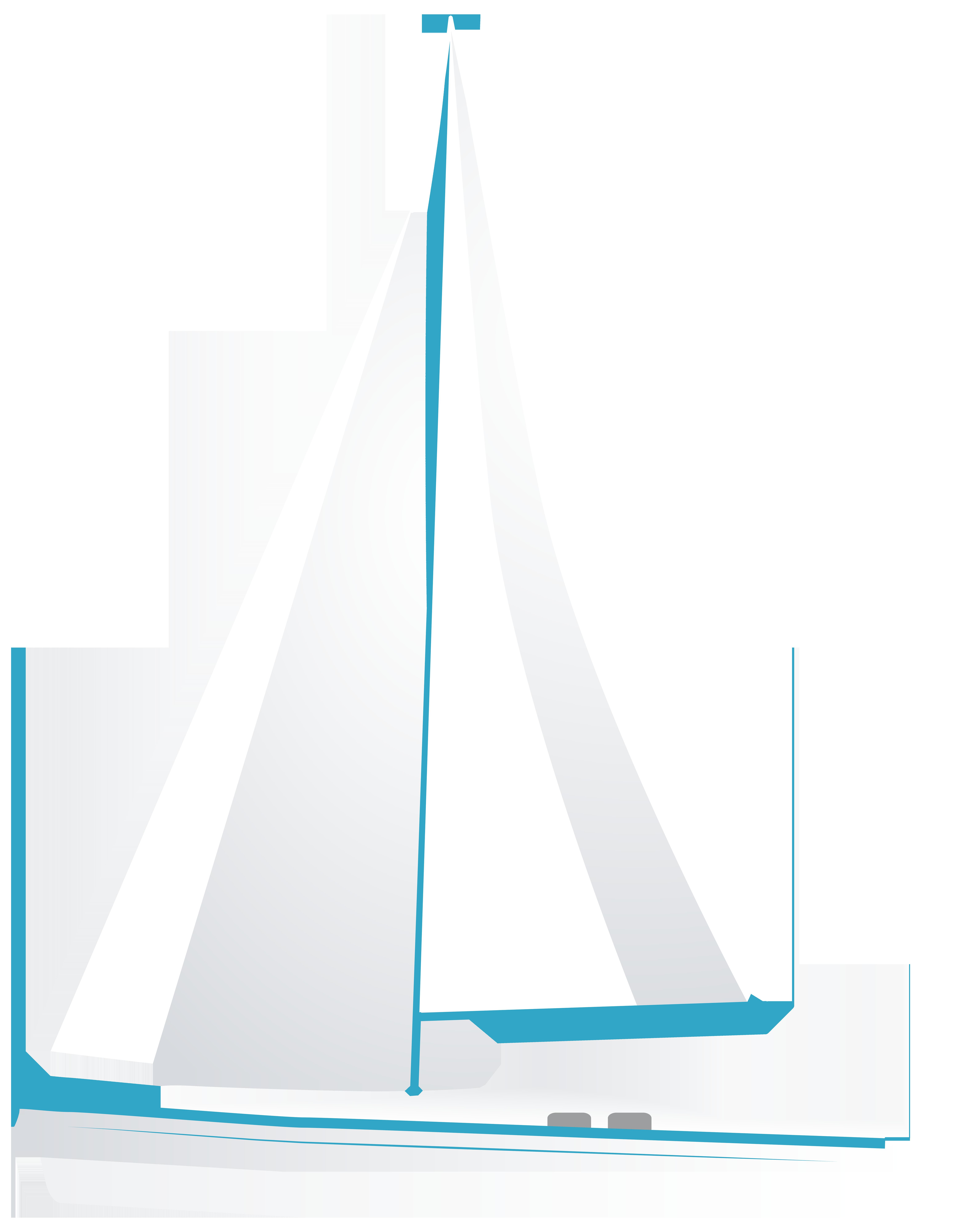 Dog on sailboat clipart graphic transparent White Sailboat PNG Clip Art - Best WEB Clipart graphic transparent