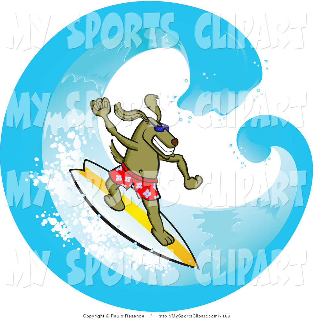 Dog on surfboard clipart clipart royalty free stock Dog surfing clipart - ClipartFest clipart royalty free stock