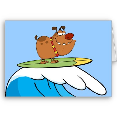 Dog on surfboard clipart royalty free stock Surfing Cartoon Pictures | Free Download Clip Art | Free Clip Art ... royalty free stock