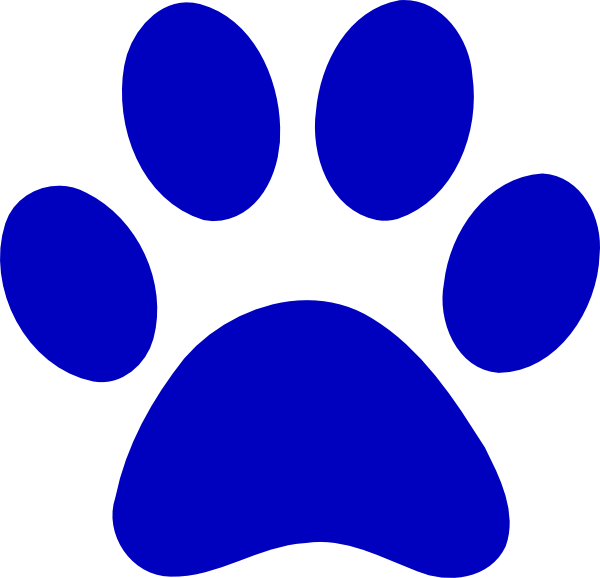 Dog paw and bone clipart vector library stock Free Dog Paw Prints Clipart, Download Free Clip Art, Free Clip Art ... vector library stock