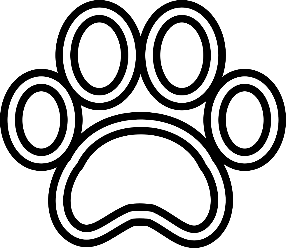Dog paw clipart png image free stock Dog Paw Print Svg Png Icon Free Download (#74075) - OnlineWebFonts.COM image free stock