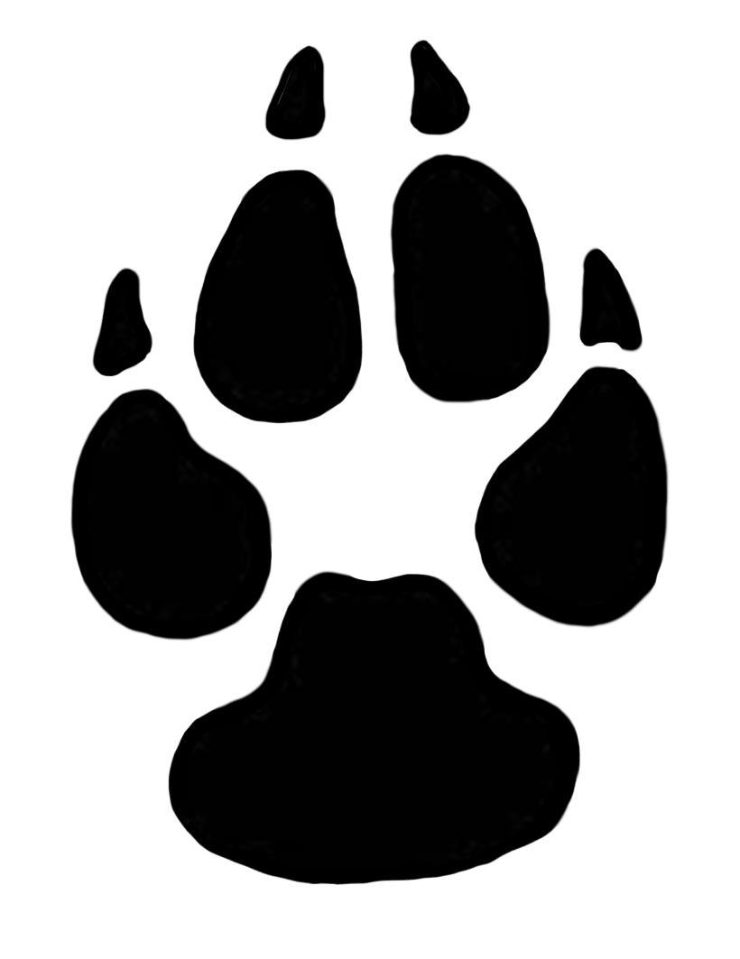 Dog print clipart vector 28+ Collection of Dog Paw Prints Clipart | High quality, free ... vector