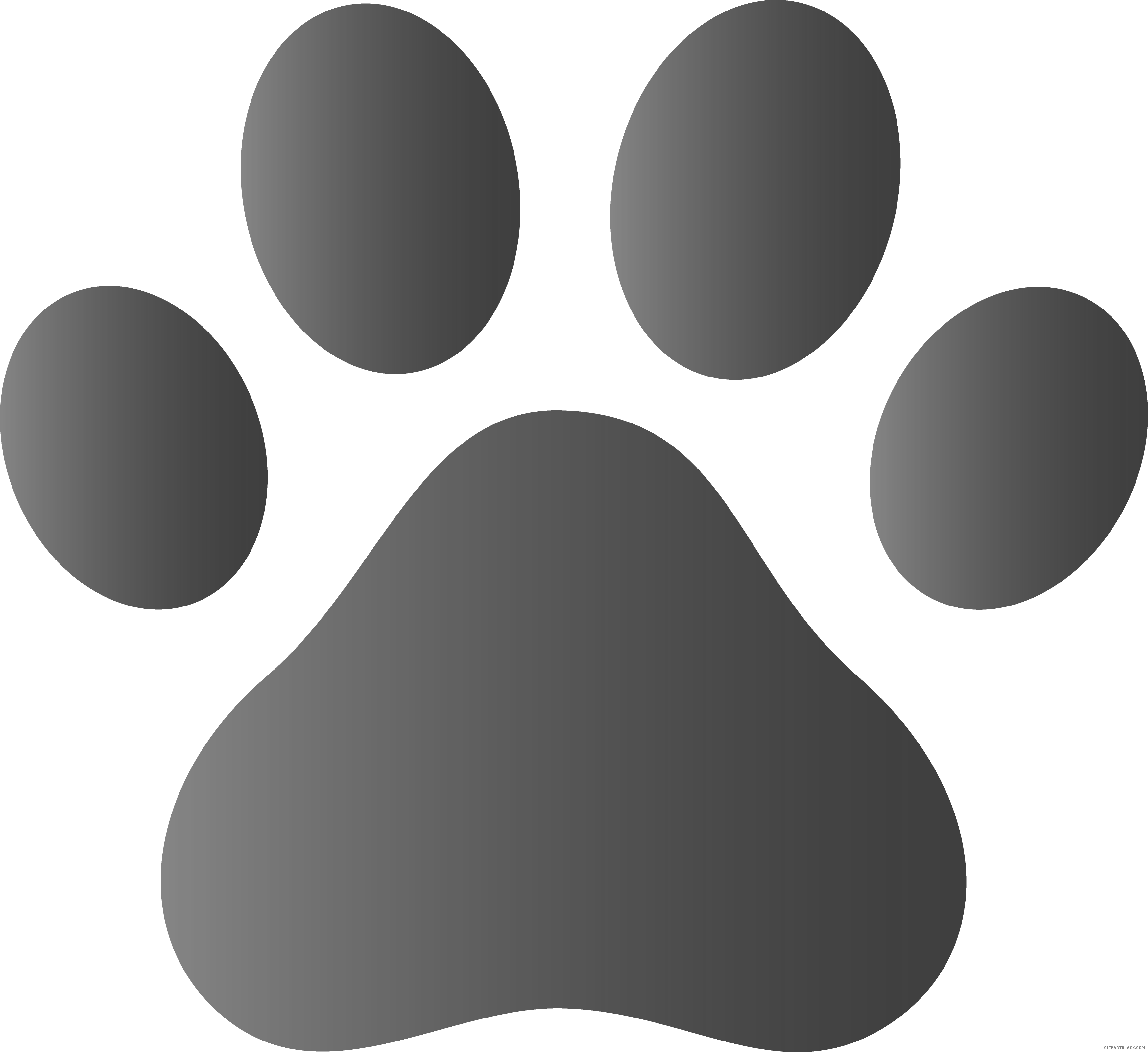 Dog paw clipart black and white svg download Dog Paw Prints Clipart - Page 3 of 3 - ClipartBlack.com svg download