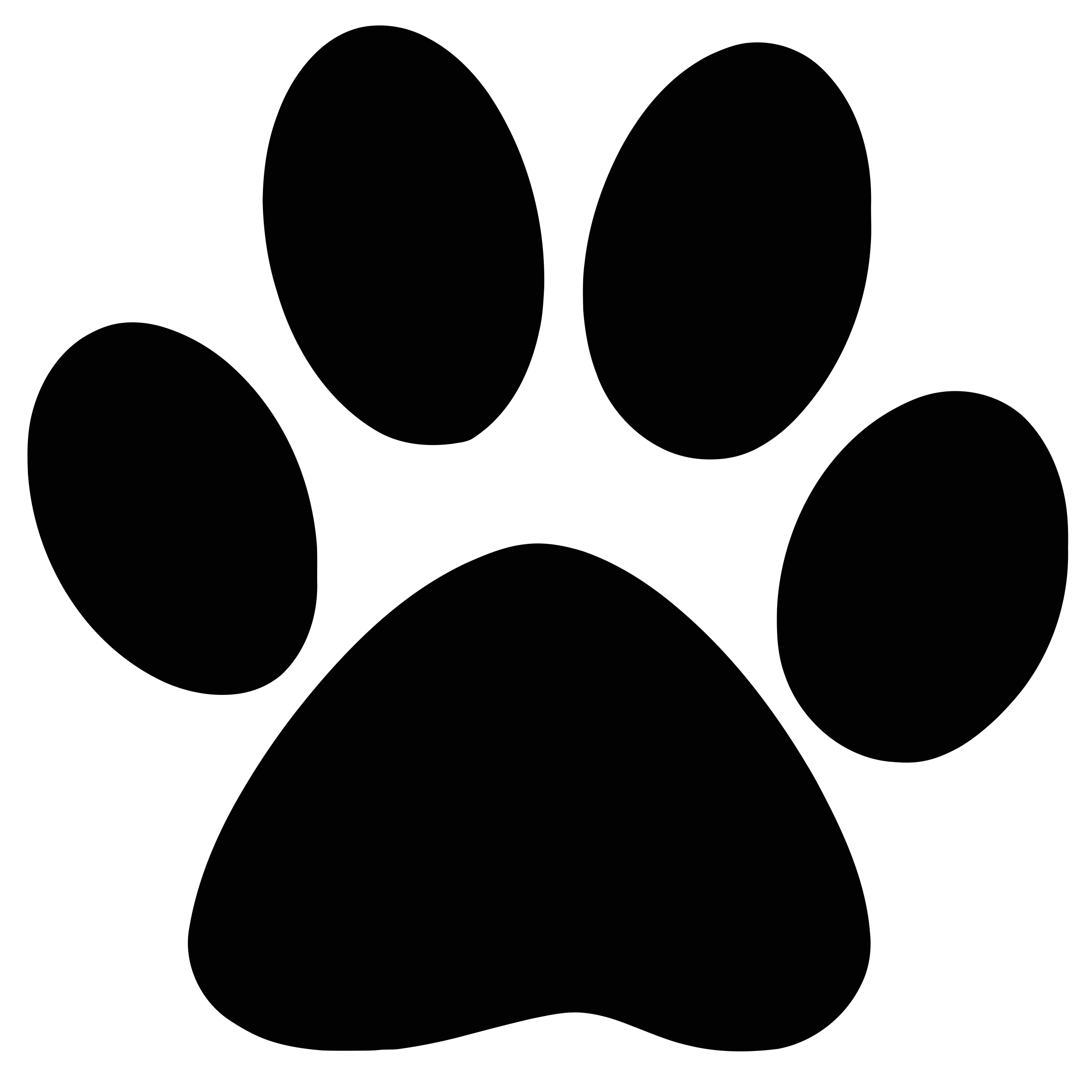 Dog paw clipart png image freeuse stock Dog Paw Cougar Clip art - paw 2500*2500 transprent Png Free Download ... image freeuse stock