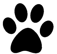 must see print. Dog paw jpg clipart