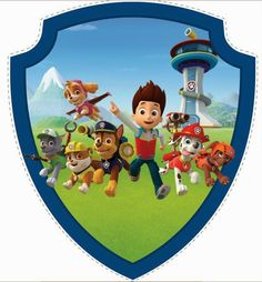 Dog paw patrol clipart free picture freeuse stock 1000+ images about Festa Gabriel on Pinterest | Dog paw prints ... picture freeuse stock