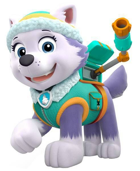 Dog paw patrol clipart free png transparent Everest | Coloring, Birthdays and Search png transparent