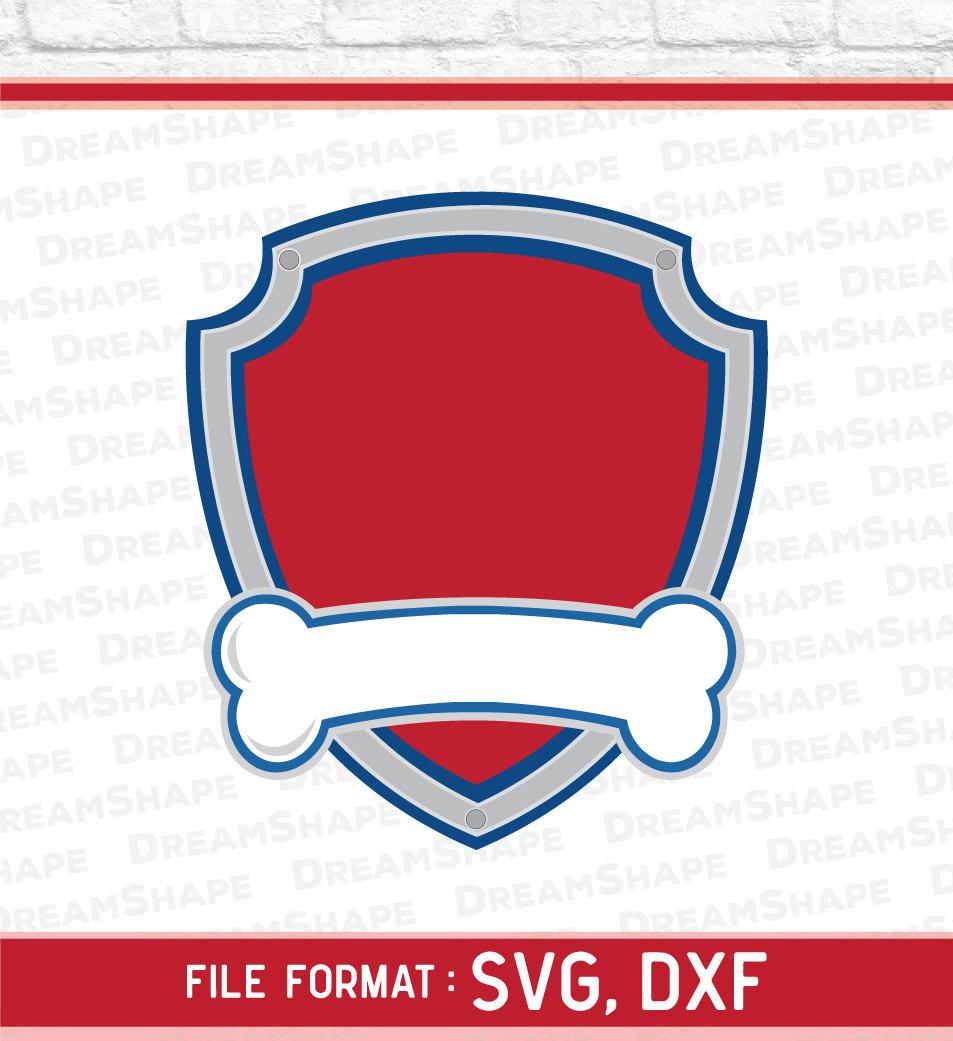 Dog paw patrol logo clipart free freeuse download Paw patrol clipart   Etsy freeuse download