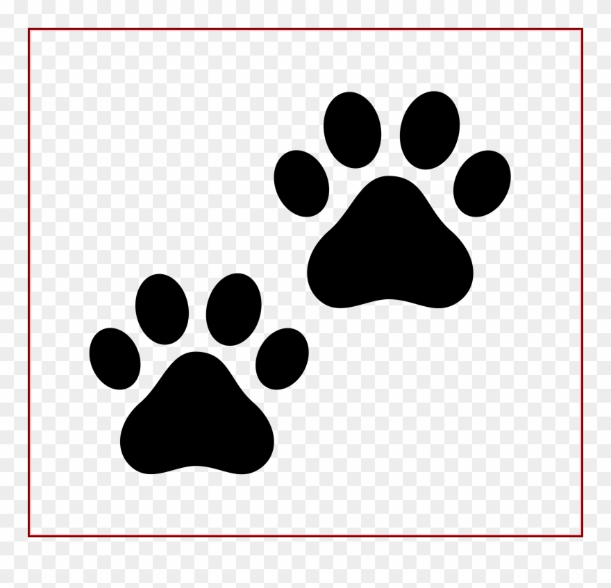 Dog paw print black and white clipart clip art stock Best Cat Paw Drawing On Clipartmag Of - Black And White Paw Print ... clip art stock