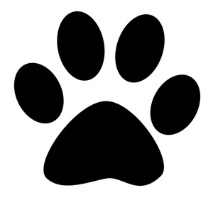 Dog paw print black and white clipart vector library download Dog Paw Print Clipart | Free download best Dog Paw Print Clipart on ... vector library download
