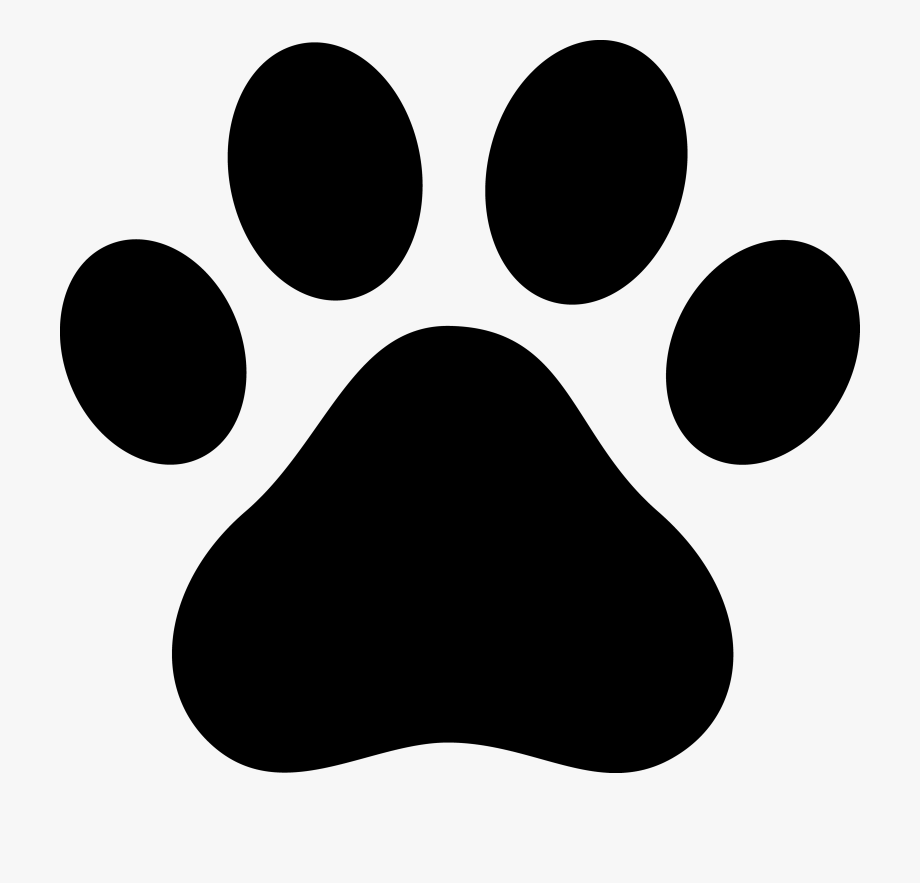 Dog paw print black and white clipart vector freeuse library Paw Print Clipart - Dog Paw Print, Cliparts & Cartoons - Jing.fm vector freeuse library