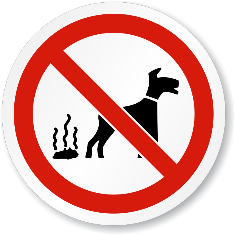 Dog peeing on fire hydrant clipart picture black and white No Dog Fouling - ISO Prohibition Sign, SKU: IS-1145 - MySafetySign.com picture black and white