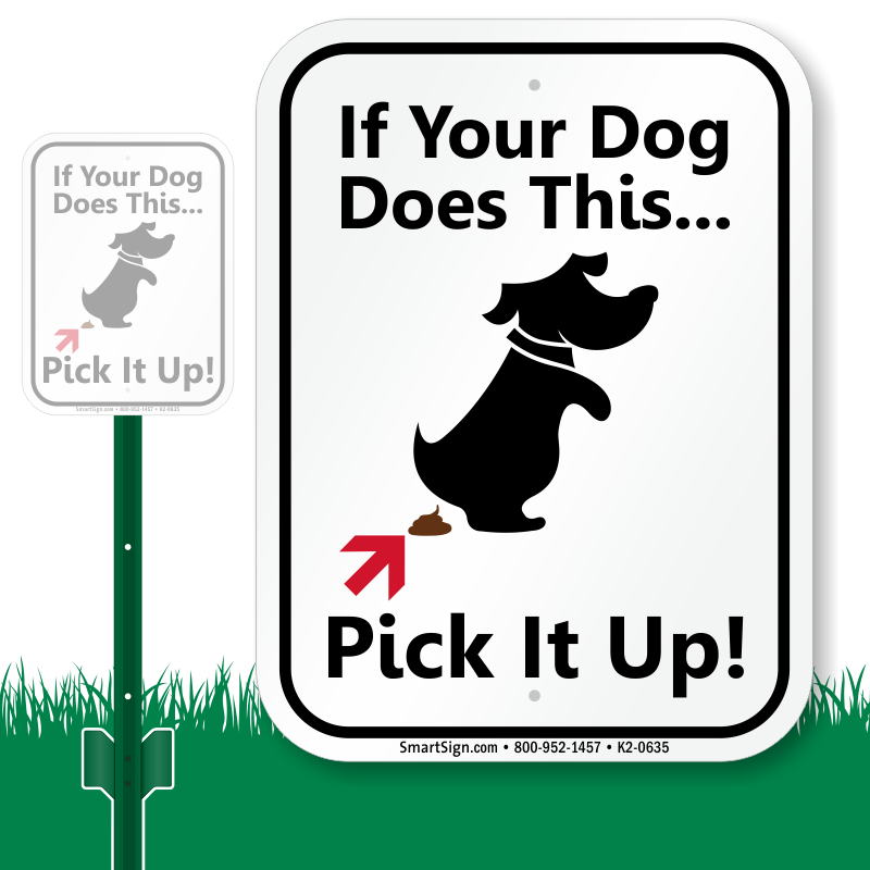 Dog poop clipart vector library download Humorous Dog Poop Signs - Funny Dog Poop Signs vector library download