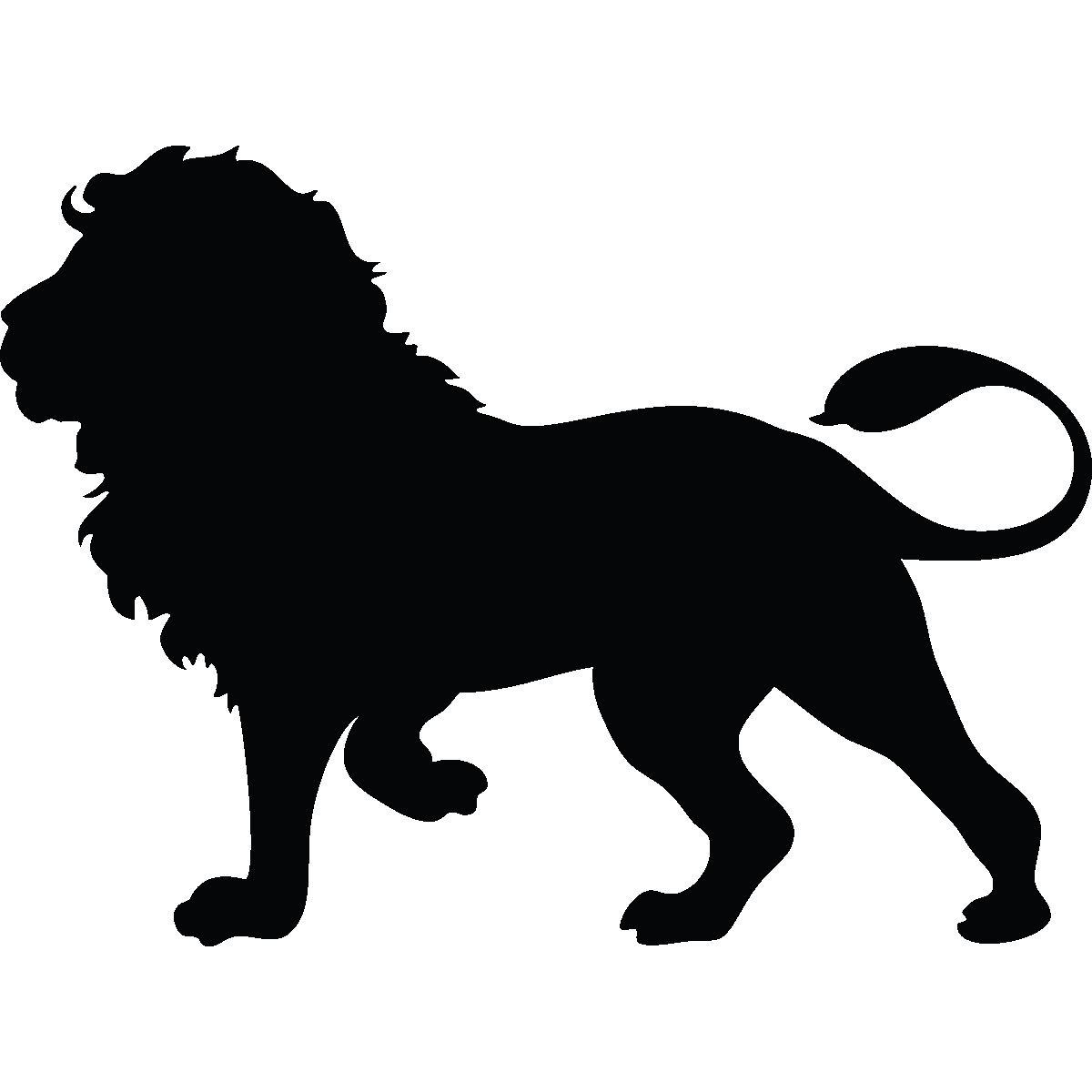 Dog shadow simple clipart image transparent library Sticker Silhouette lion majestueux | Pinterest | Lion silhouette ... image transparent library