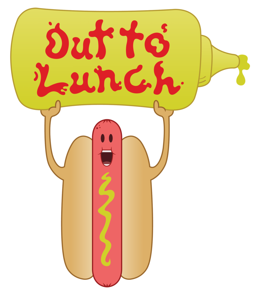 Dog signs clipart jpg black and white Out To Lunch Dog!! by gamblerZapostle on DeviantArt jpg black and white