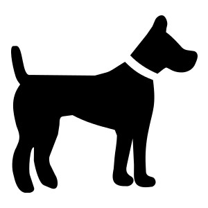 Dog silhouette clip art black and white image black and white stock Dog silhouette clip art - ClipartFest image black and white stock
