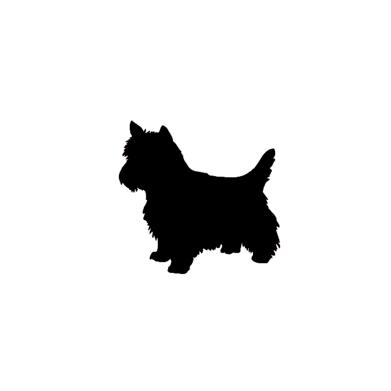 Dog silhouette clip art black and white picture royalty free library yorkie dog silhouette | doggie | Pinterest | Clip art, Search and ... picture royalty free library