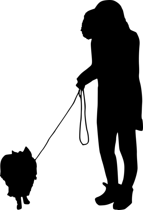 Dog walking clipart black and white clip art free stock dog walking silhouette png - Free PNG Images | TOPpng clip art free stock