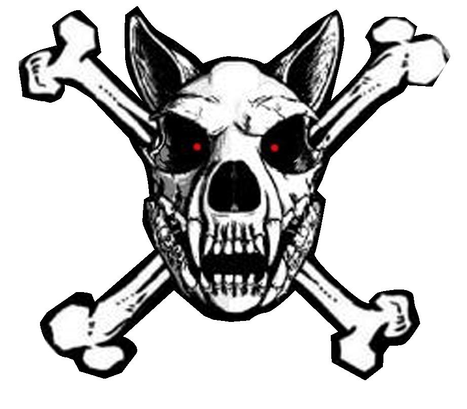 Dog skull clipart svg Police dog Skull and crossbones Clip art - Old West Graphics 922*808 ... svg
