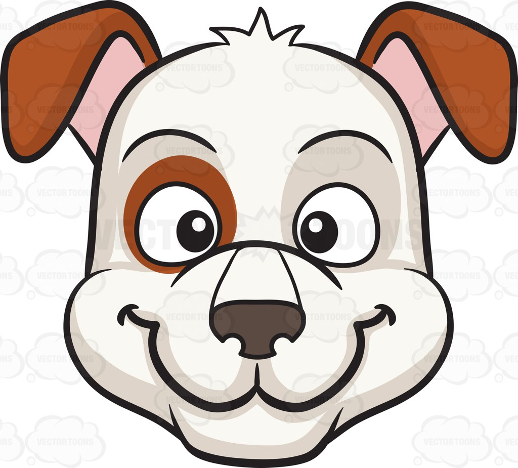 Dog smiling clipart with hearts clipart stock Dog smiling clipart with hearts - ClipartFest clipart stock