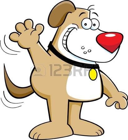 Dog smiling clipart with hearts clip art freeuse 14,194 Dog Smiling Stock Vector Illustration And Royalty Free Dog ... clip art freeuse