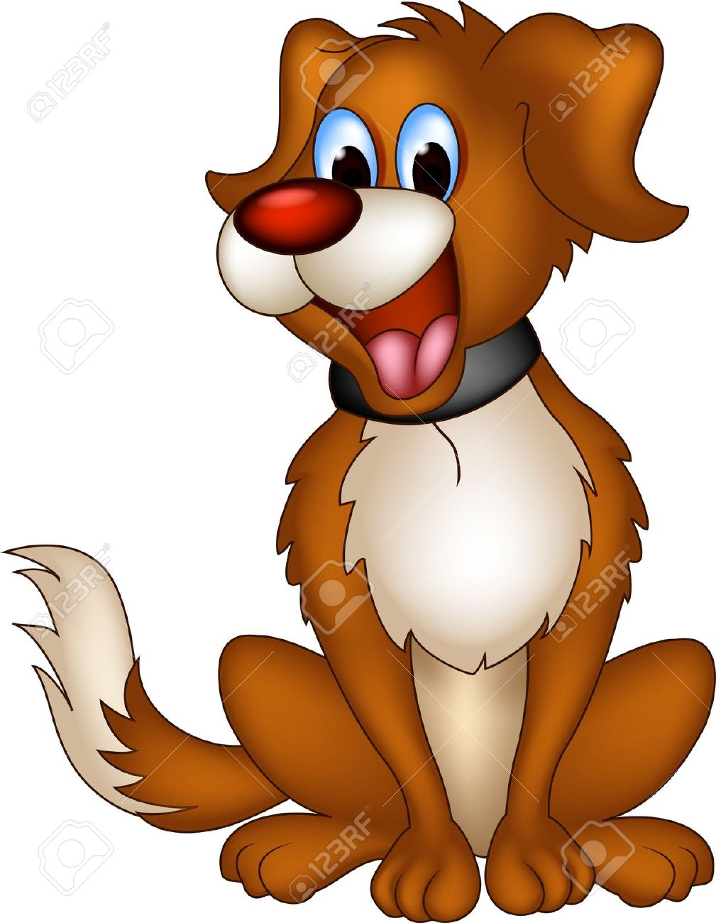 Dog smiling clipart with hearts png transparent stock 14,194 Dog Smiling Stock Vector Illustration And Royalty Free Dog ... png transparent stock