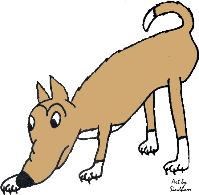 Dog sniffing clipart banner freeuse File:Sniffing.png - Wikimedia Commons banner freeuse