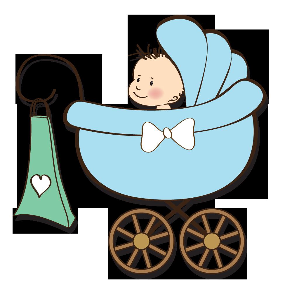 Dog stroller clipart vector stock Baby shower Gift Infant Clip art - Baby sitting in stroller 1000 ... vector stock