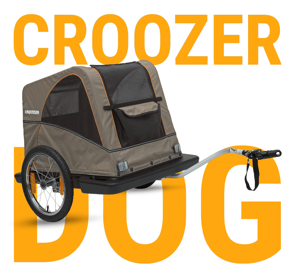 Dog stroller clipart vector freeuse Bicycle trailers for child, pet and cargo | Croozer® vector freeuse