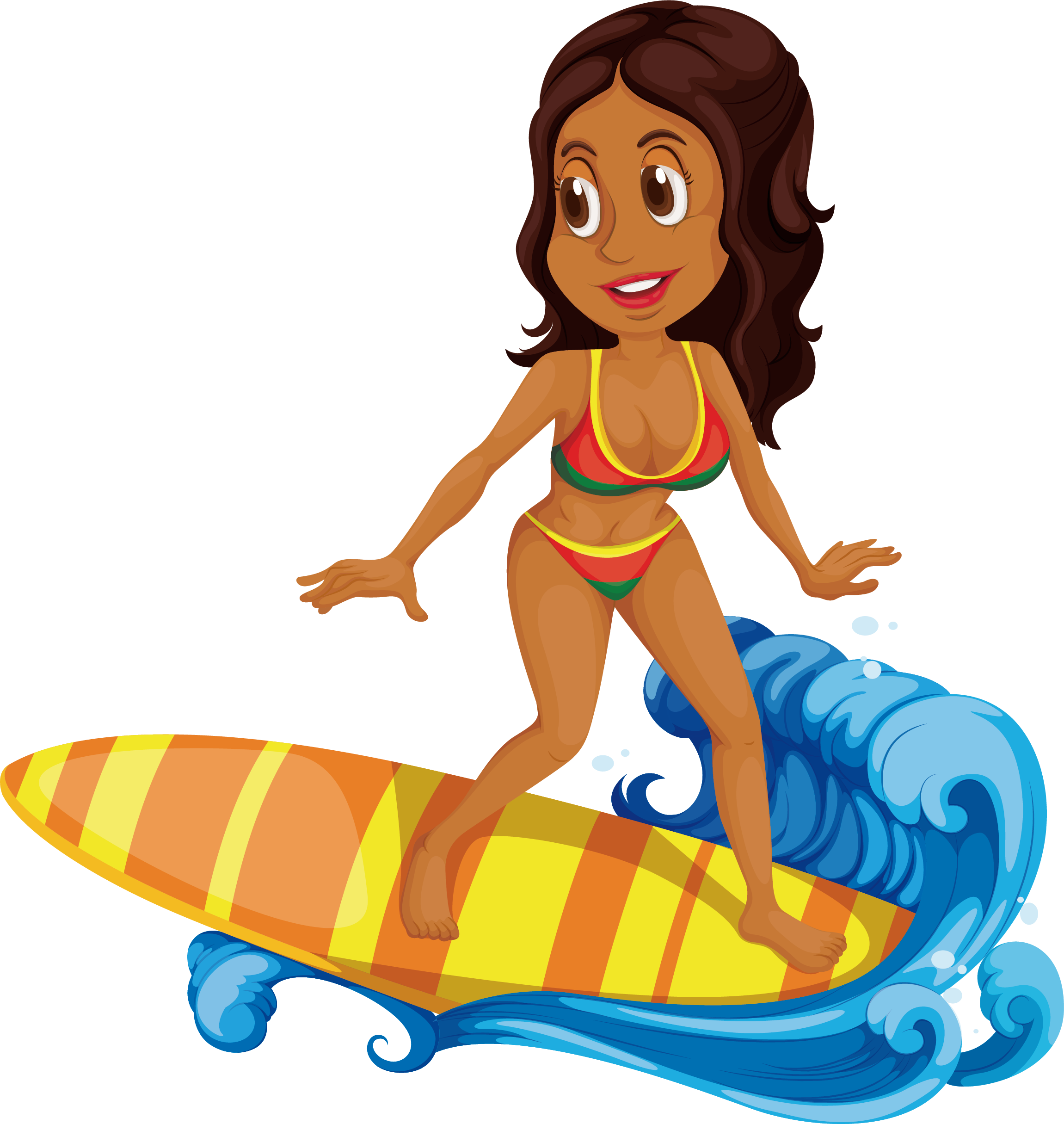Dog surfing clipart jpg library Surfing Cartoon Clip art - Sea surfing black beauty 2301*2430 ... jpg library