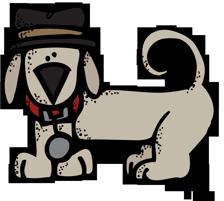 Dog surfing clipart vector free stock melonheadz detective - Google Search | Melonheadz | Pinterest | Clip ... vector free stock