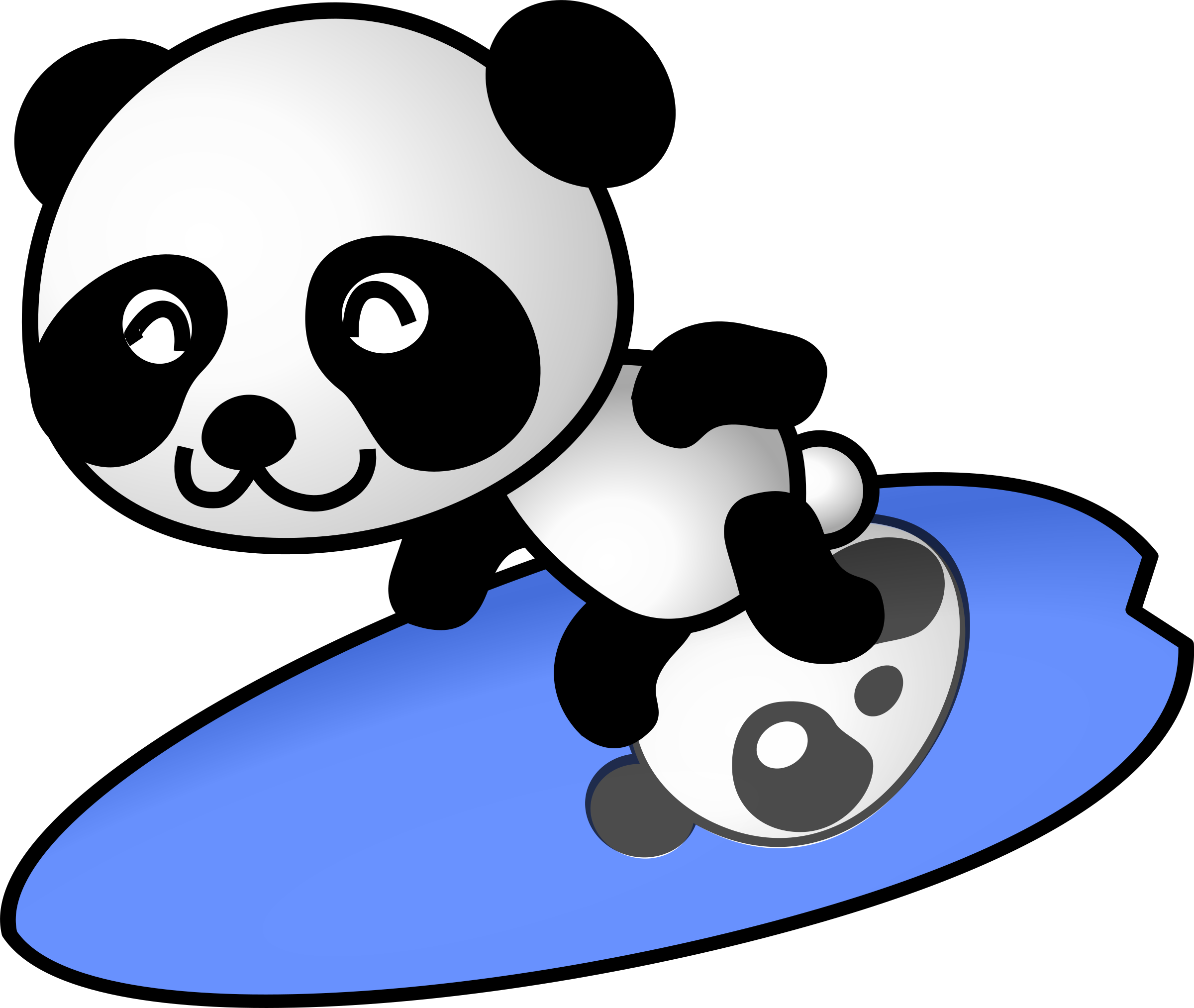 Dog surfing clipart jpg surfer panda Icons PNG - Free PNG and Icons Downloads jpg