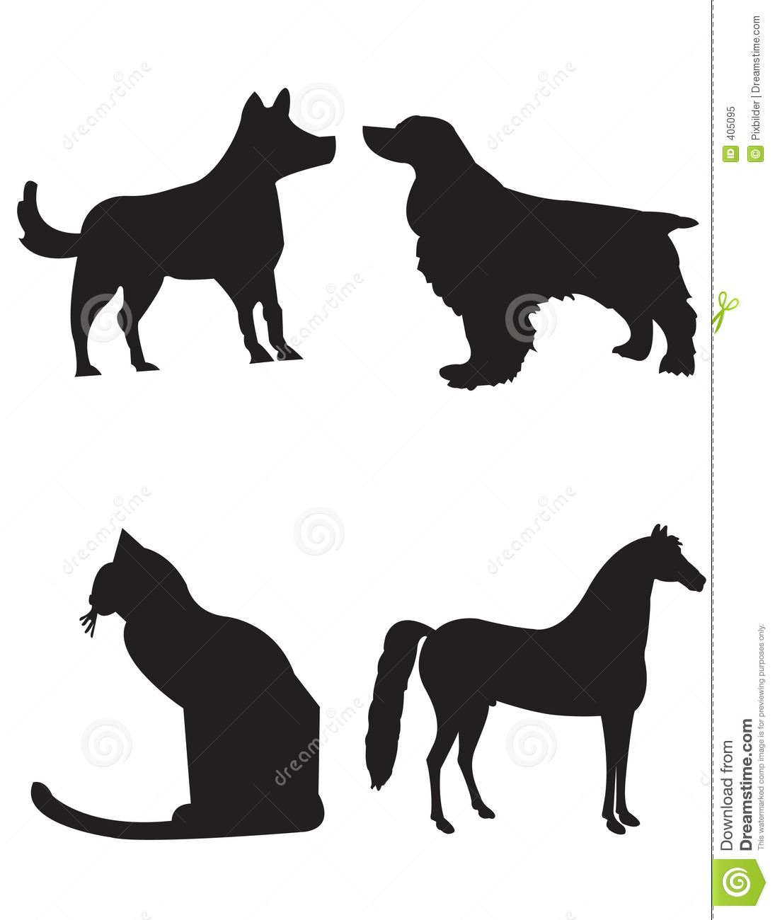 Dog tail clipart svg library download Clipart dog and cat tails - ClipartFest svg library download
