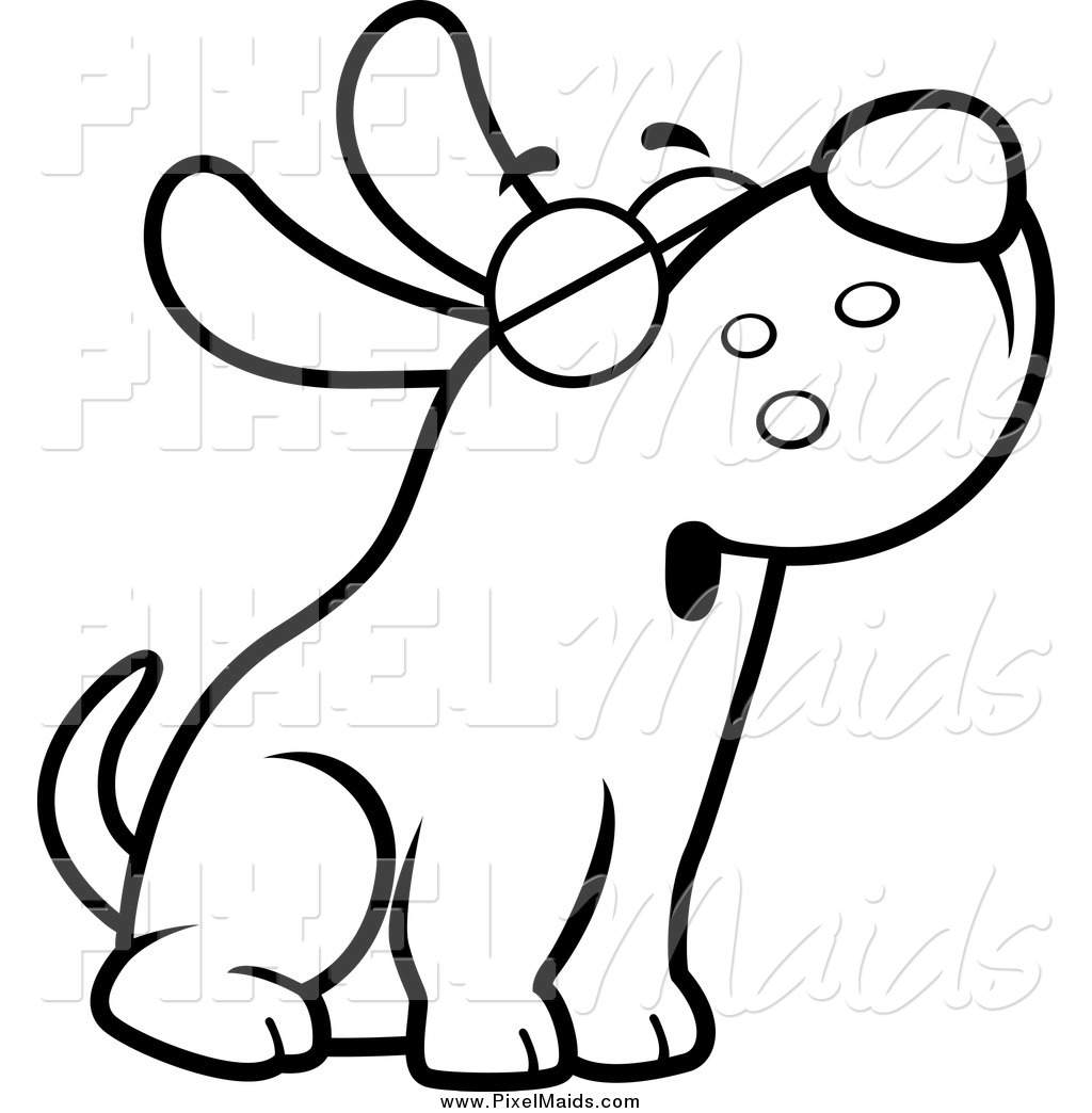 Dog tail clipart black and white banner black and white download Black And White Dog Clipart & Black And White Dog Clip Art Images ... banner black and white download