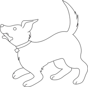Clip art panda free. Dog tail clipart black and white