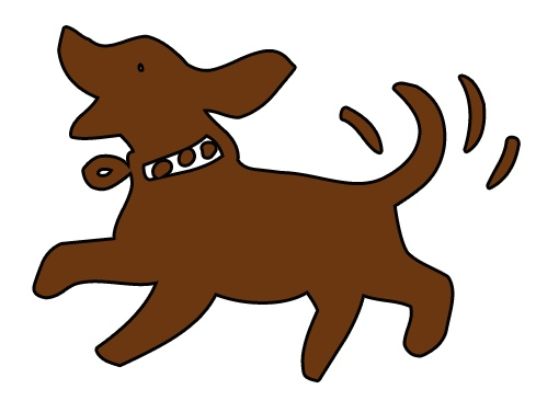 Dog tail wag clipart. Gallery for previous wagging