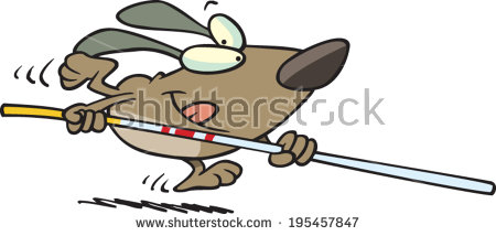 Dog vault clipart clipart free download Cartoon Dog Cast Crutches Looking High Stock Vector 197902193 ... clipart free download