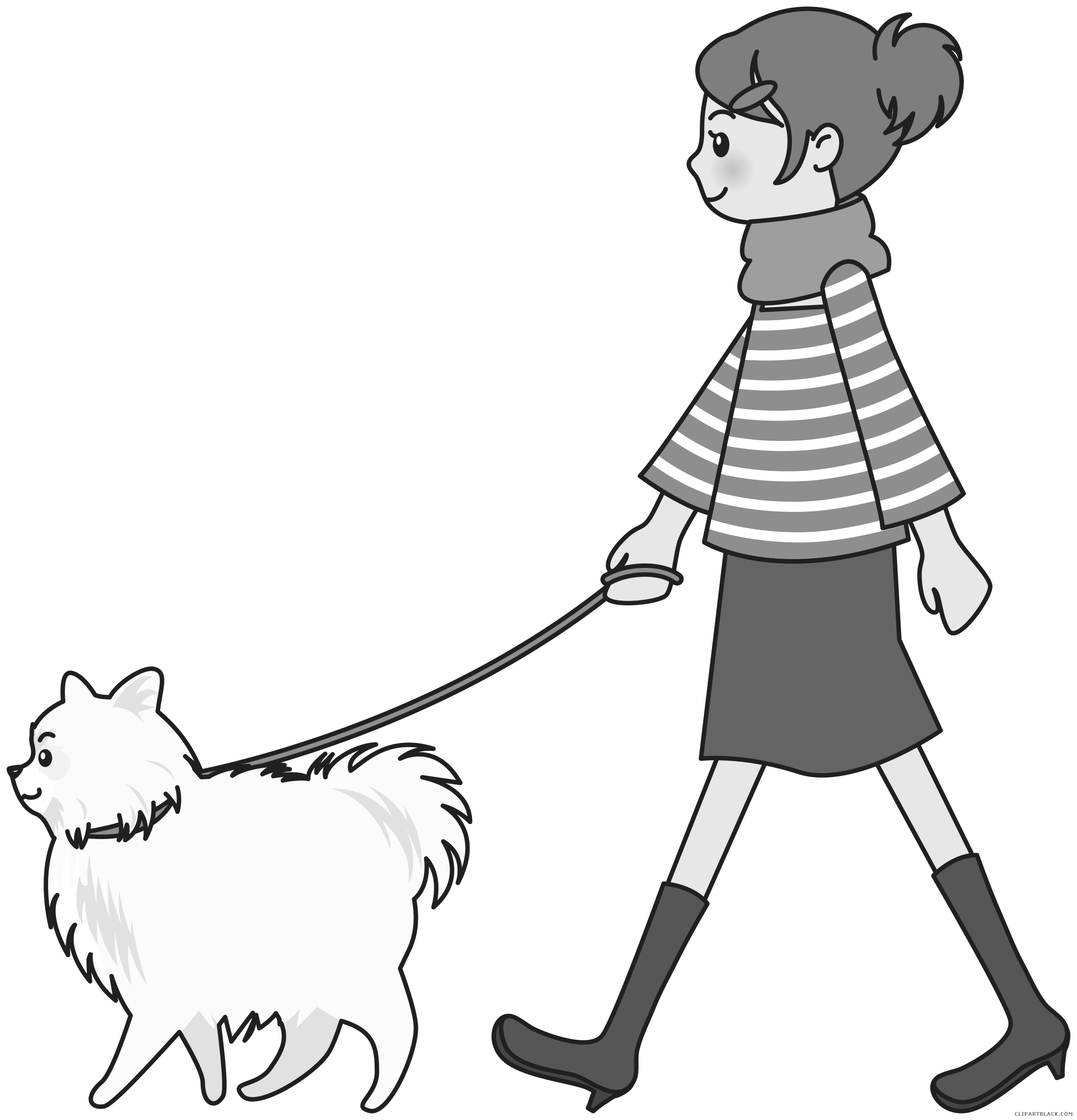 Free clipart dog walking clip art free stock Walking Dog Clipart - Page 2 of 3 - ClipartBlack.com clip art free stock