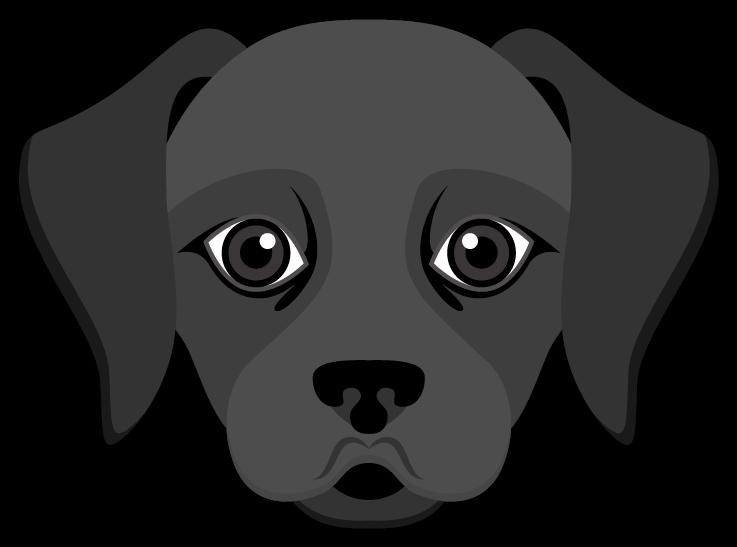 Dog waving goodbye clipart free library Black Labrador Emoji #BlackLabsMatter !!! Send your friends cute ... free library